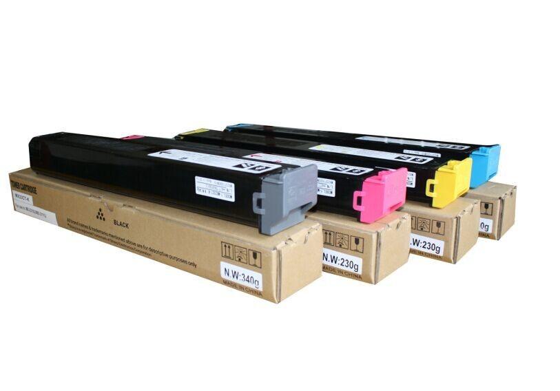 sharp mx-23ft toner cartridge black-yellow-magenta-cyan mx1810u