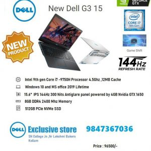 Dell G3 15 Inch Gaming Laptop with Game Shift technology